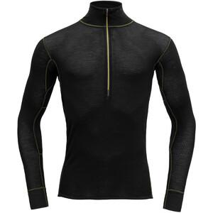 Devold Wool Mesh Half-Zip Langarm Shirt Herren schwarz schwarz