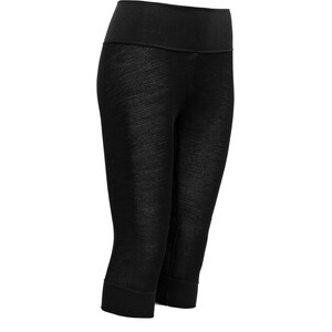 Devold Wool Mesh 3/4 Long Johns Damen schwarz schwarz