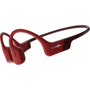 AfterShokz Aeropex Knochenschall Kopfhörer rot rot
