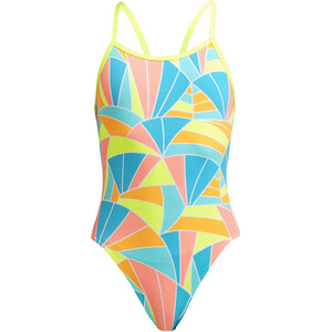 Funkita Single Strap Badeanzug Mädchen bunt bunt
