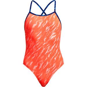 Funkita Tie Me Tight One Piece Swimsuit Girls orange orange