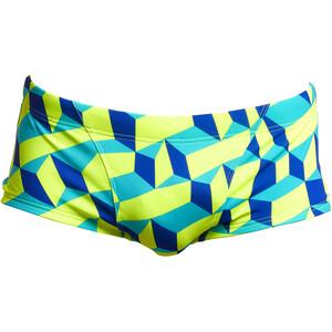 Funky Trunks Classic Trunks Men, sininen/keltainen sininen/keltainen