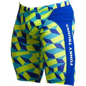 Funky Trunks Training Jammer Herren blau/gelb blau/gelb