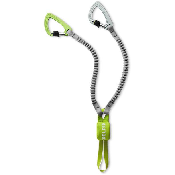 Edelrid Cable Kit Ultralite VI Via Ferrata, harmaa/vihreä