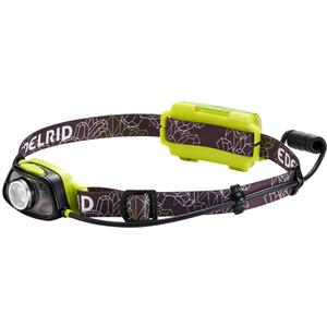 Edelrid Vegalite Headlamp, czarny/zielony czarny/zielony