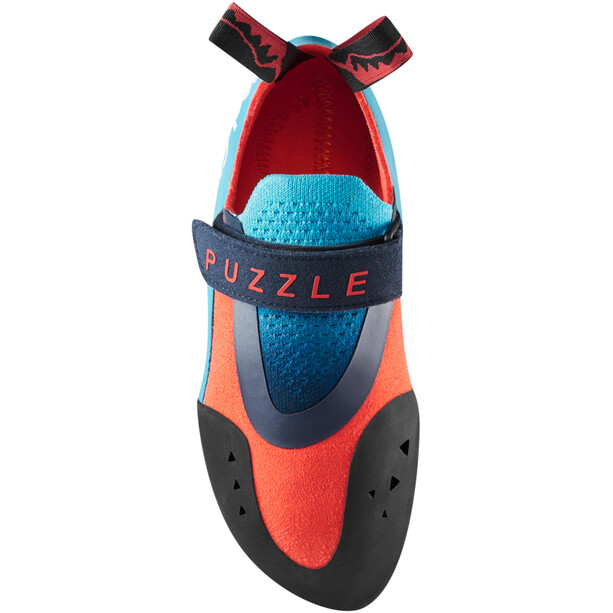 Red Chili Puzzle Kletterschuhe Kinder türkis/rot