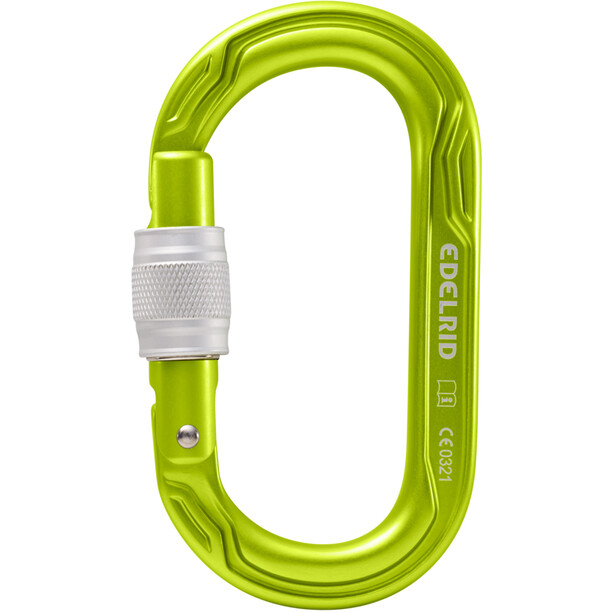 Edelrid Oval Power 2500 Screw Carabiner oasis