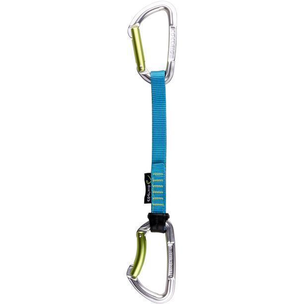 Edelrid Slash Quickdraw Set 18cm night/icemint
