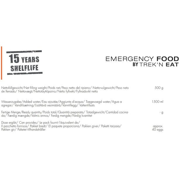 Trek'n Eat Emergency Food Dose 500g Eipulver