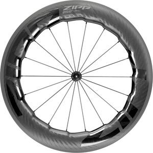 "Zipp 858 NSW Front Wheel 28"" TLR Carbon, musta musta"