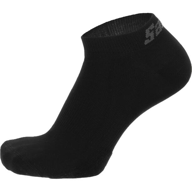Santini Cubo Cycling Short Socks, noir