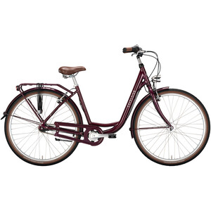"""Excelsior Swan-Urban 7-speed 26"""" Wave, rouge rouge"""