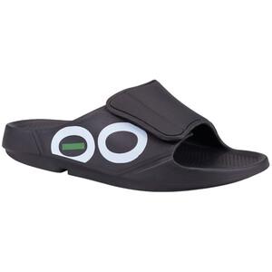 OOFOS Ooahh Sport Flex Sandaalit, musta musta
