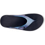 OOFOS Ooriginal Sport Sandals, black/iridscnt blue