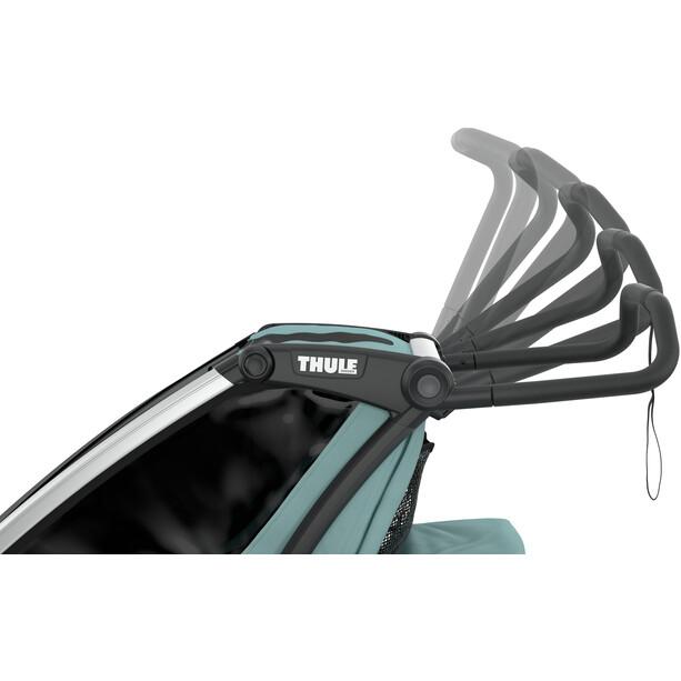 Thule Chariot Cross 1 Bike Trailer, oliven/petroleumsgrøn