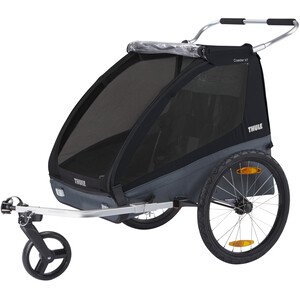 Thule Coaster XT Bike Trailer, noir noir