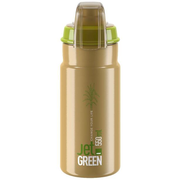 Elite Jet Green Plus Trinkflasche 550ml braun