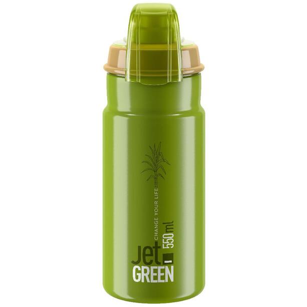 Elite Jet Green Plus Trinkflasche 550ml grün