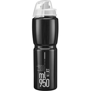Elite Jet Plus drikkeflaske 950 ml Svart Svart