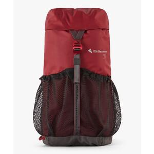 Klättermusen Fjörm Backpack 18l, rojo/gris rojo/gris