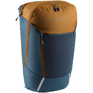 VAUDE Cycle 20 II 2in1 Bike Bag and Backpack, Bleu pétrole/beige Bleu pétrole/beige