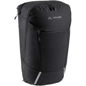 VAUDE Cycle 20 II 2in1 Fahrradtasche und -rucksack schwarz schwarz