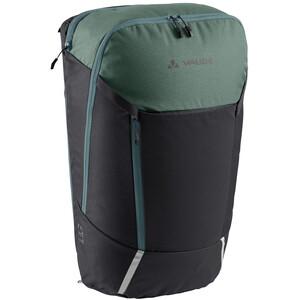 VAUDE Cycle 20 II 2in1 Fahrradtasche und -rucksack schwarz/grün schwarz/grün
