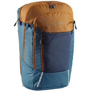VAUDE Cycle 28 II 2in1 Bike Bag and Backpack, blauw/beige blauw/beige