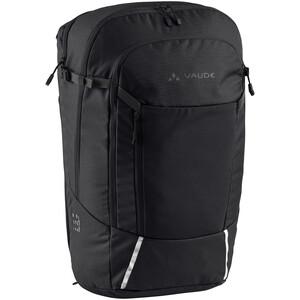 VAUDE Cycle 28 II 2in1 Bike Bag and Backpack, noir noir