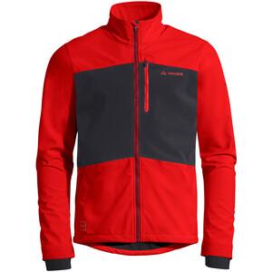VAUDE Virt II Softshell-takki Miehet, punainen punainen