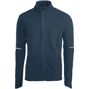 VAUDE Wintry IV Softshell Jacket Men, Bleu pétrole Bleu pétrole