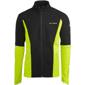VAUDE Wintry IV Softshell Jacket Men, geel geel