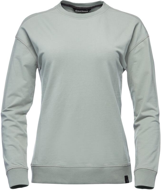 Black Diamond Basis Crew Sweater Women atmosphere S 2021 Gensere