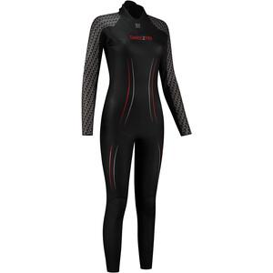 Dare2Tri MACH3 0.7 Wetsuit Damen schwarz schwarz