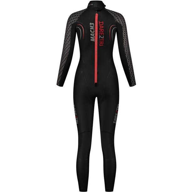 Dare2Tri MACH3 0.7 Wetsuit Women, black