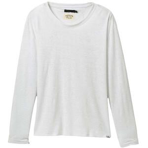 Prana Cozy Up Long Sleeve Tee Women white white