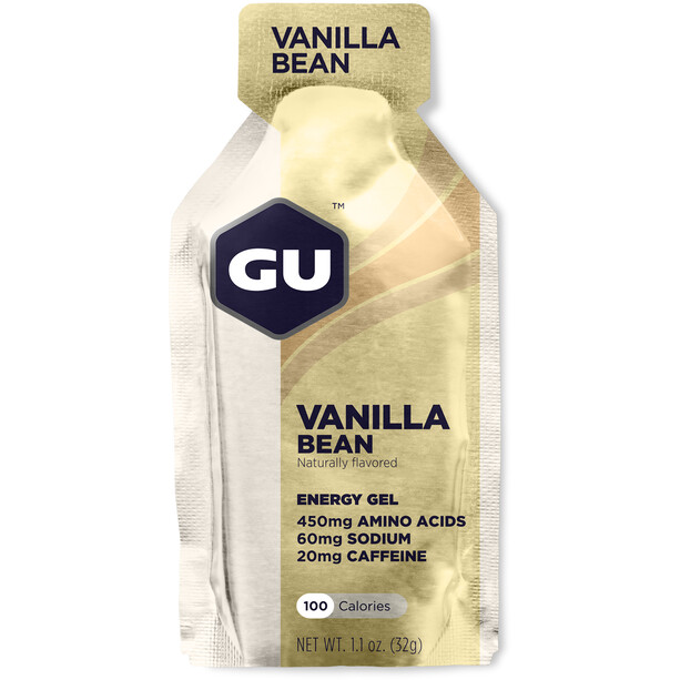 GU Energy Mixpack Gel 24 x 32g, Strawberry Banana/Chocolate/Vanilla/Salted Caramel/Jet/Triberry