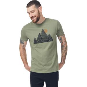 tentree Peak T-Shirt Herren grün grün