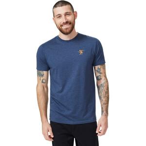 tentree Sasquatch T-Shirt Men dress blue heather dress blue heather