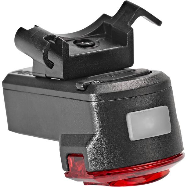 Axa Compactline Battery Rear Light USB LED, black