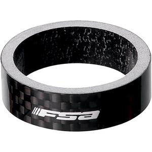 FSA Spacer Carbon 1 1/8 x 5mm schwarz schwarz