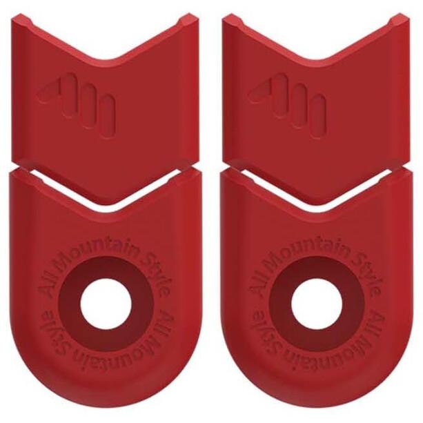 All Mountain Style Defender Kurbelschutz rot