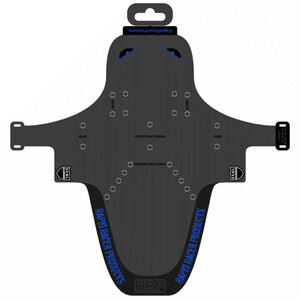 Rapid Racer Products EnduroGuard Guardabarros Largo, negro/azul negro/azul
