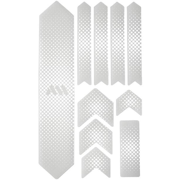 All Mountain Style Extra Schutzkit für Fahrradrahmen 10 Stück weiß