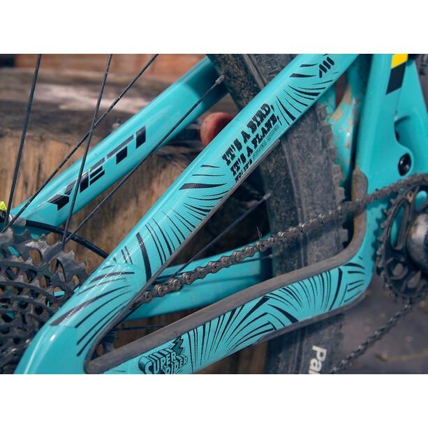 All Mountain Style Full Schutzkit für Fahrradrahmen 18 Stück schwarz