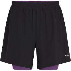 Fe226 LightRun 2-in-1 Shorts schwarz schwarz