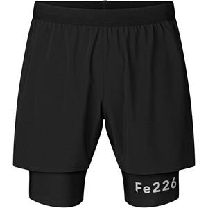 Fe226 TEM LightRun 2-in-1 Shorts, noir noir