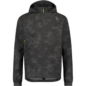 AGU Commuter Compact Reflection Rain Jacket Men, zwart zwart