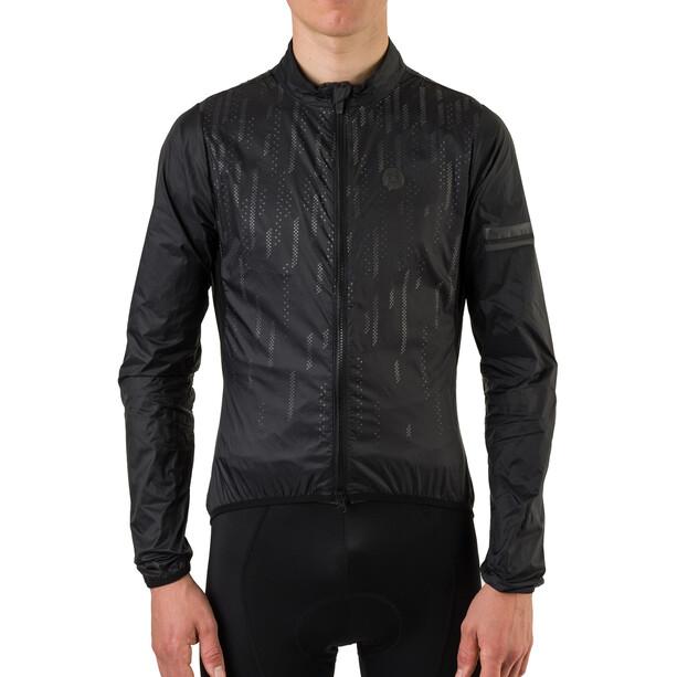 AGU Essential II Wind Jacket Hi-Vis Men, black reflective