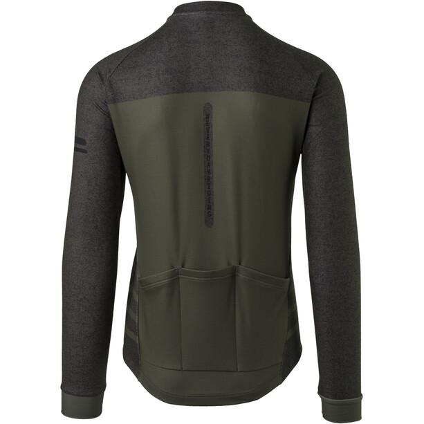 AGU Essential Melange LS Jersey Men, army green